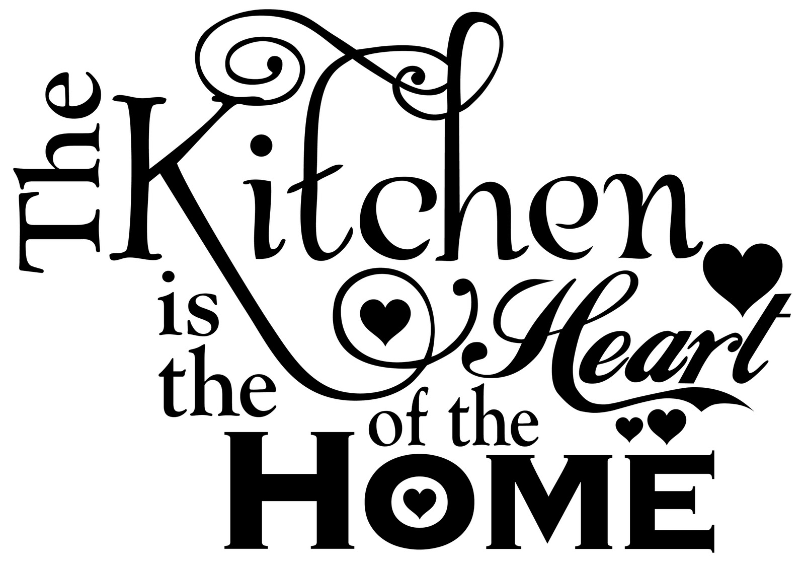 Silhouette Design Store - View Design #82596: the kitchen is the heart of  the home